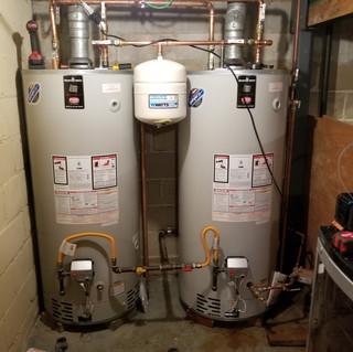 Twin 75 Gallon Water Heater