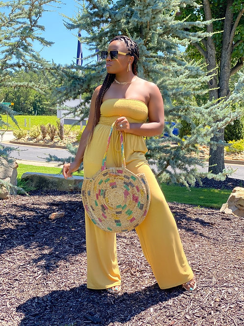Jumping Through Hoops Jumpsuit