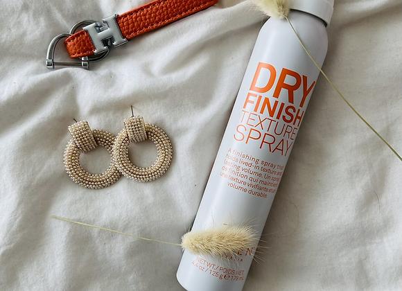 Dry finish texture spray