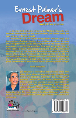 Earnest Palmer's Dream and Other Stories (Back)