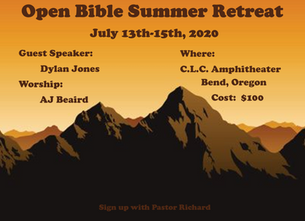 Summer Retreat 2020