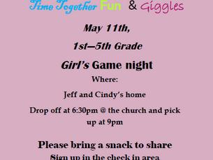 Girl's Game Night