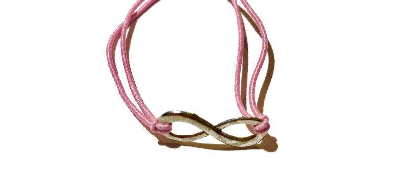 infinity symbol elastic bracelet - large