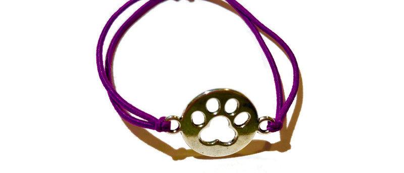 paw print elastic bracelet - small