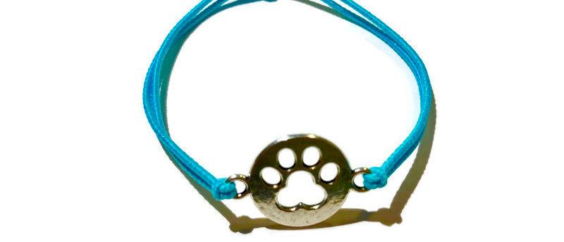paw print elastic bracelet - large