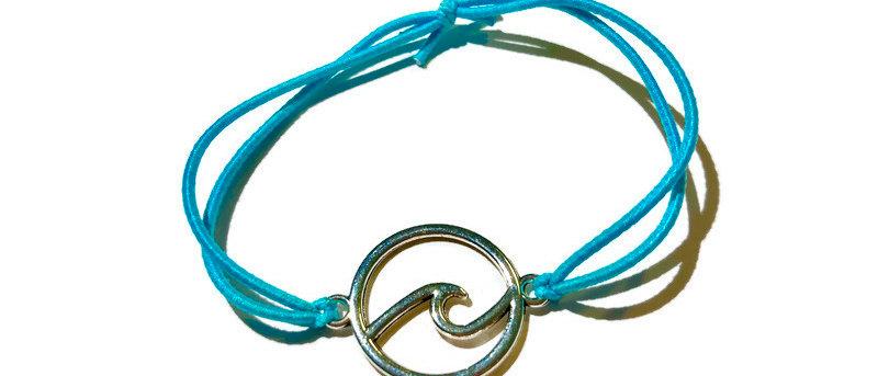 surf circle elastic bracelet - large