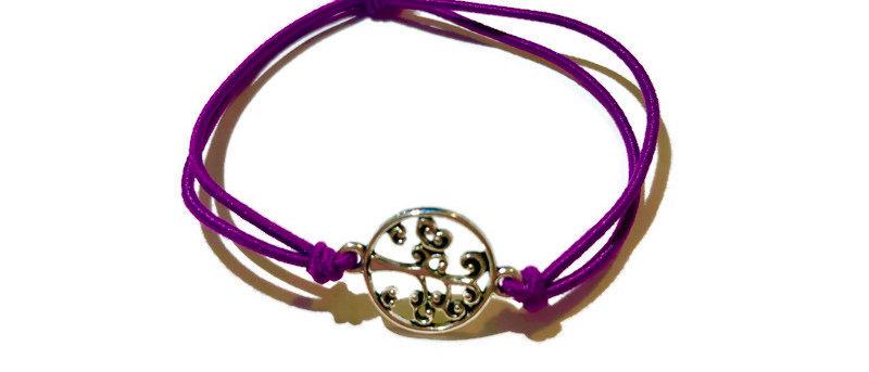 tree of life elastic bracelet - large