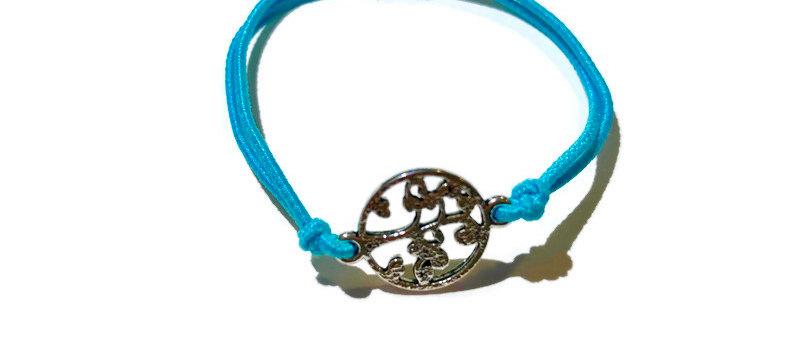 tree of life elastic bracelet - small