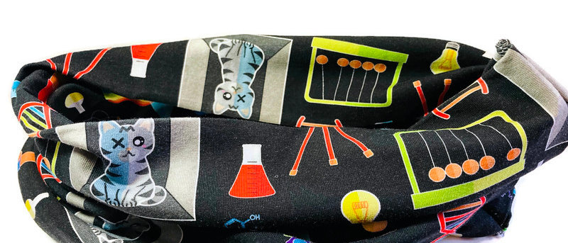 science lab neck scarf