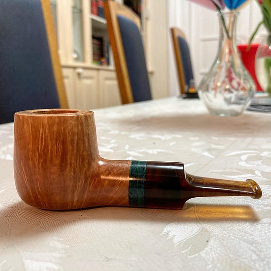 Pipe 306, SOLD 2 star Tao inspired 9mm billiard (adapter available)