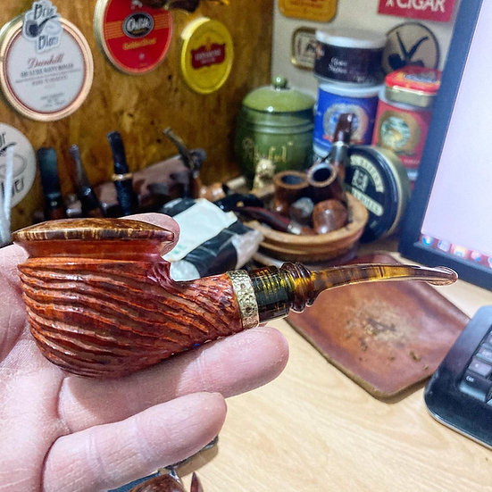 SOLD Pipe 339 commissioned Rhodesian