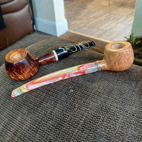SOLD Pipes 342 & 343 commissioned Princes