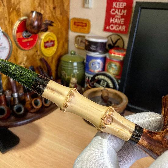 Not Availabe - Pipe 345 bamboo dublin (mini) churchwarden