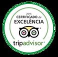 Certificado de excelência tripadvisor