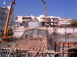 General view - concreting