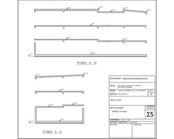 Structural deign - sections