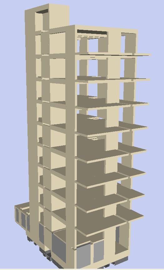 10-storey Apartment Building