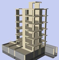 6-storey Apartment Building