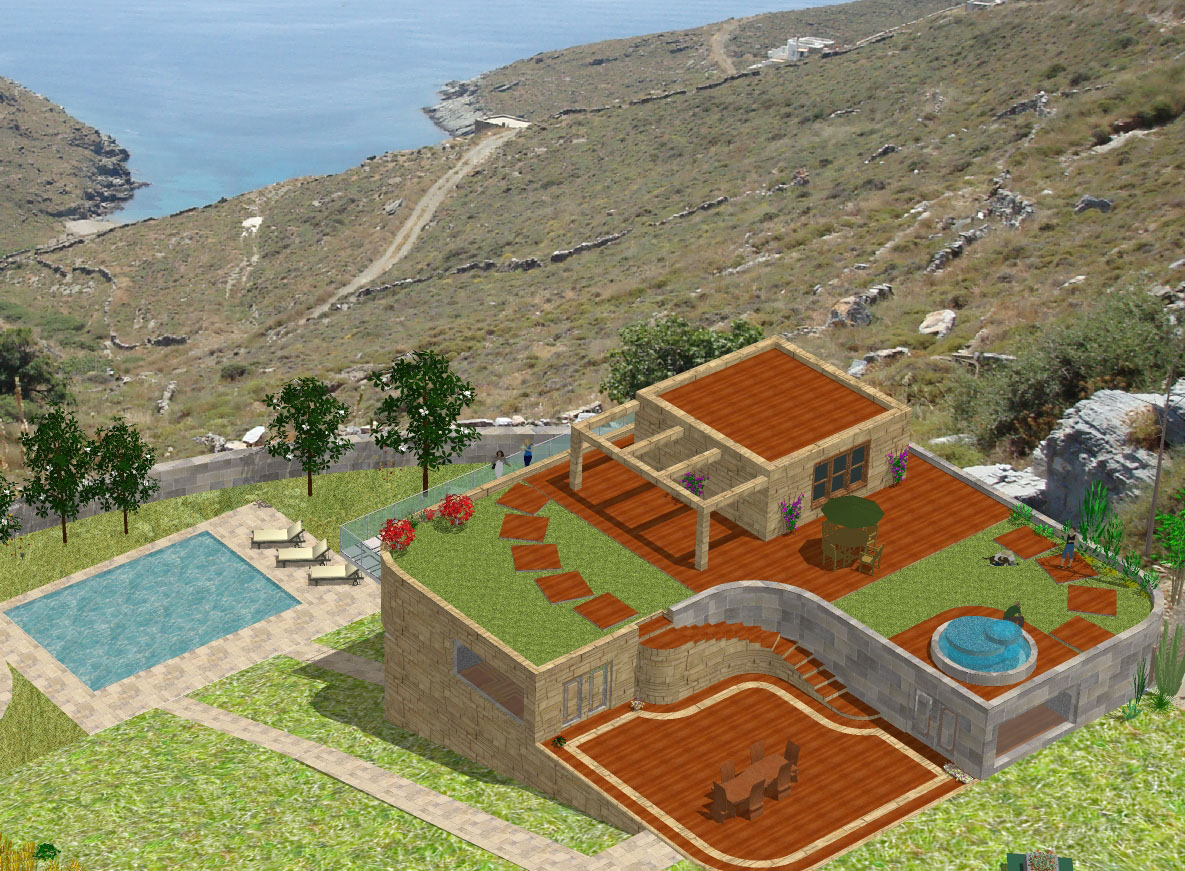 Architectural Proposal of a Villa