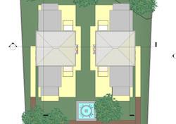 Archiectural design of 2 villas