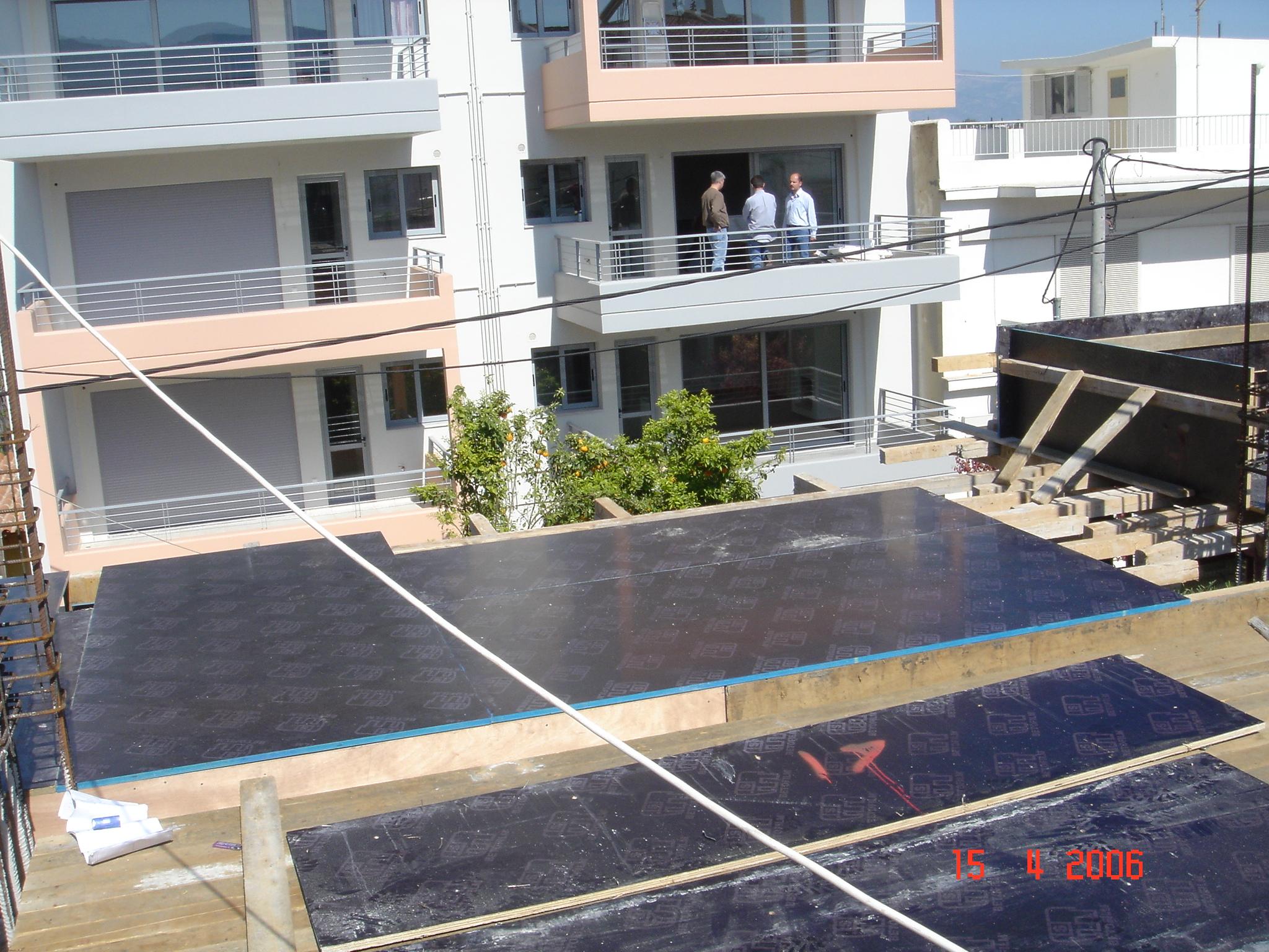 Balconies Formworks