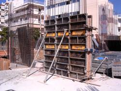 Column Steel formworks
