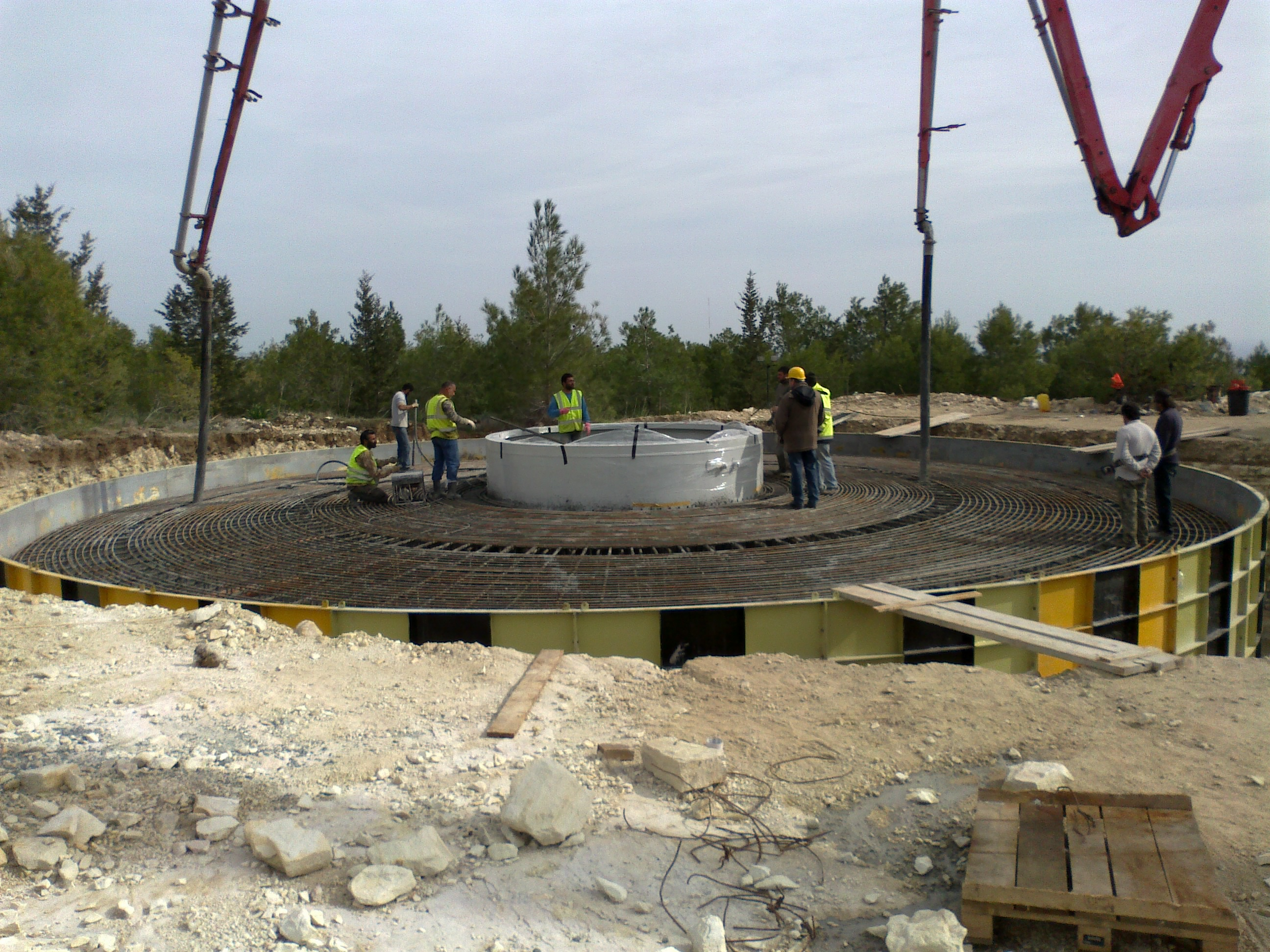 Foundation Concreting