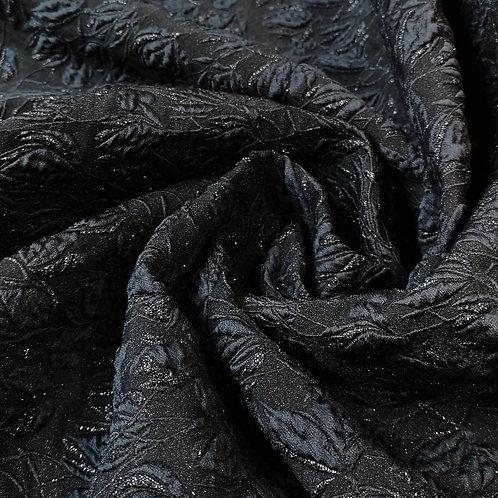 Onassis Black Brocart