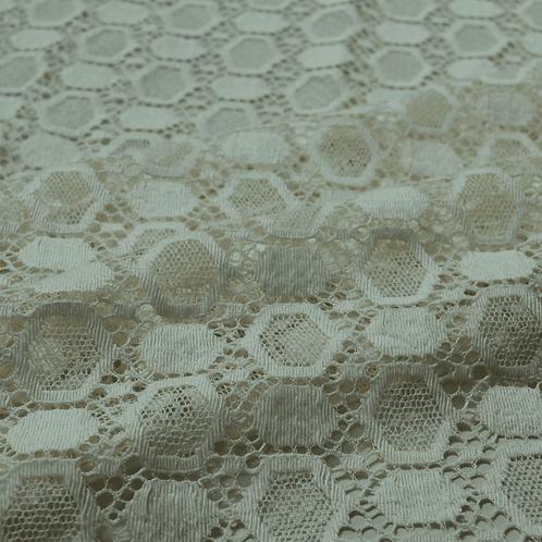 Solstiss Beige Cotton Lace