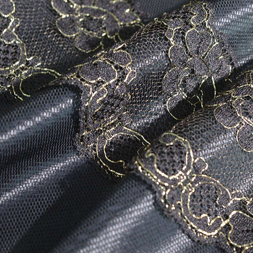 Solstiss Black Gold Lace