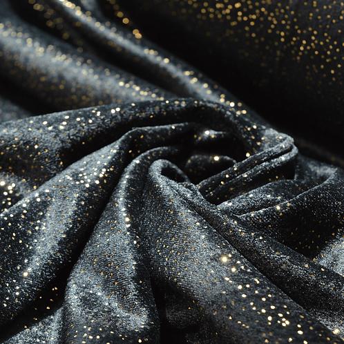 Velluto Liscio Astro Black Velvet