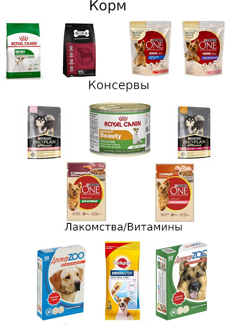 Высший комплект MINI LUCKY DOG L
