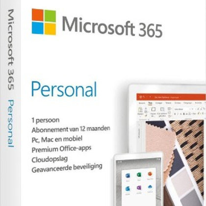 Microsoft 365 Persoonlijk - Jaarlijks