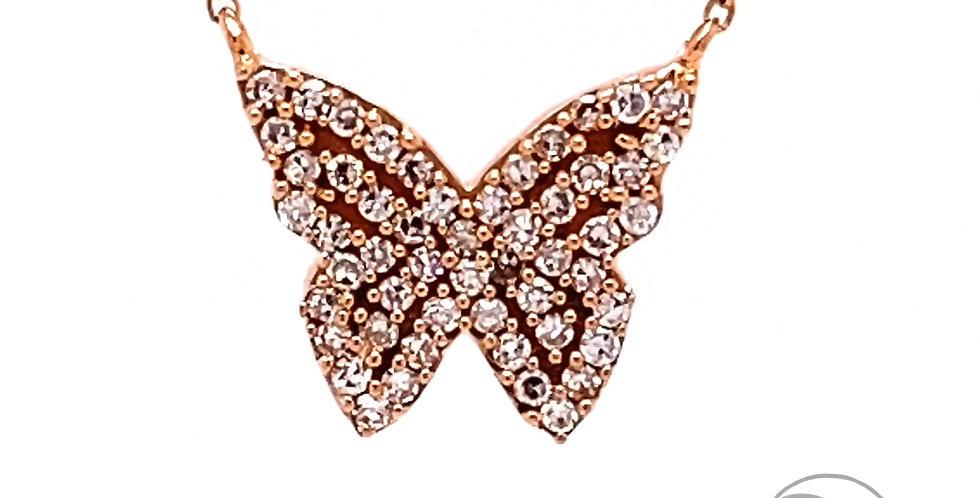 Dainty Butterfly Necklace