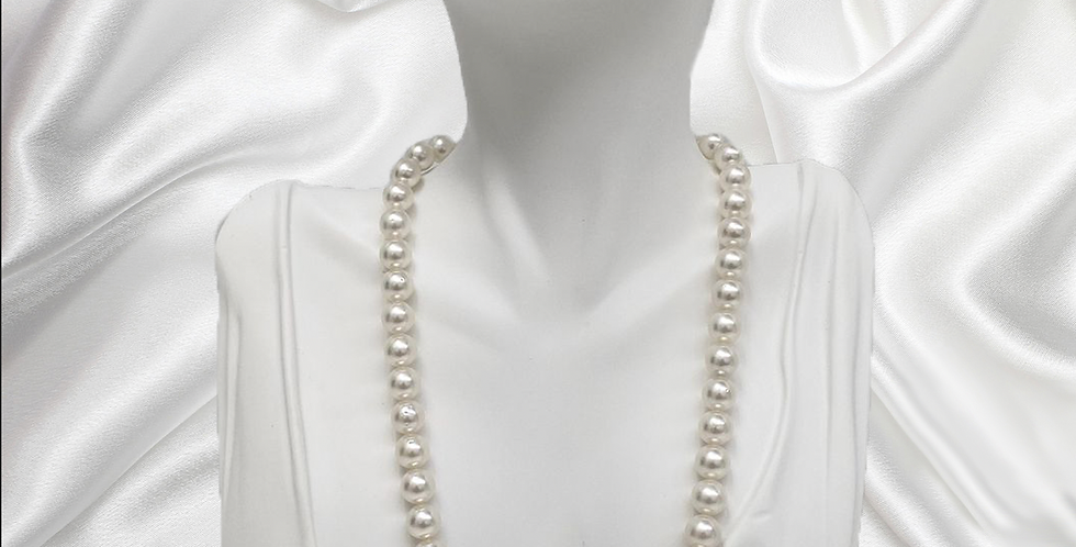 South Sea White Round Pearl Necklace