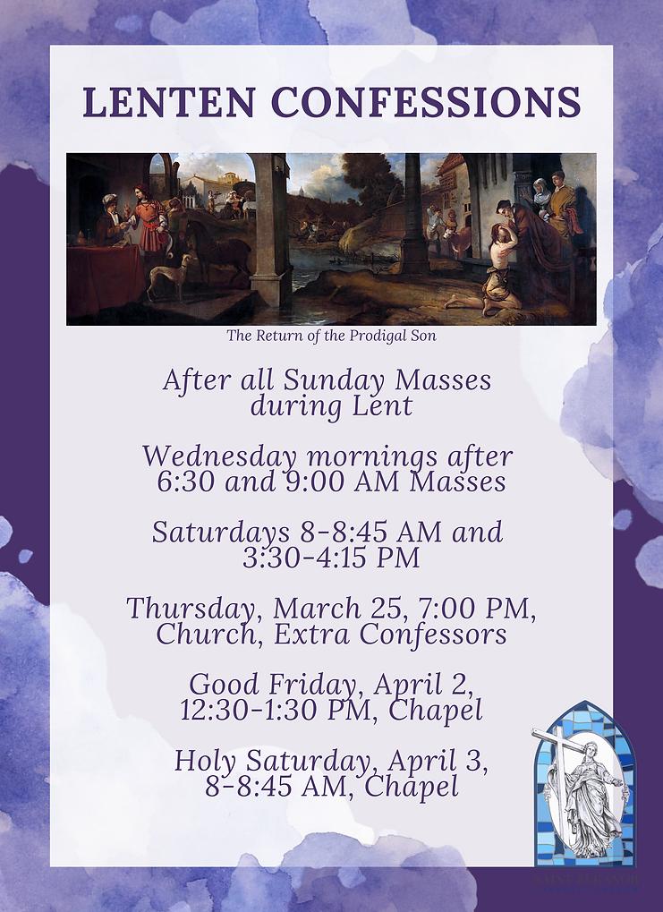 Lenten Confessions Poster edit 4 light (