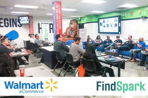 Walmart eCommerce x FindSpark Hiring Event