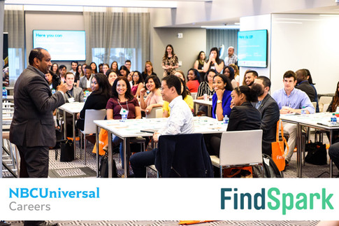 NBCUniversal x FindSpark Networking Event