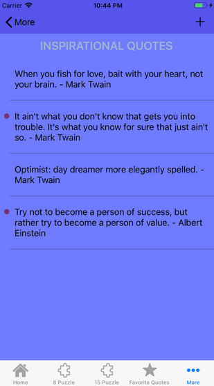 quotes page