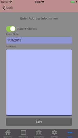 Add Address