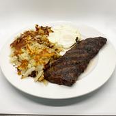 Skirt Steak & Eggs w/ Hashbrowns