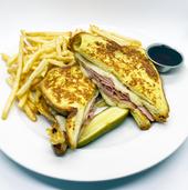 Monte Cristo w/ French Fries