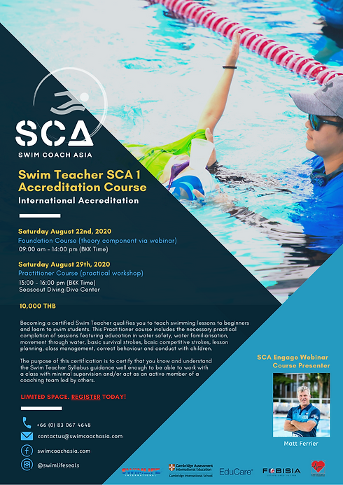 SCA 1 Full Accreditation Course | Aug 22