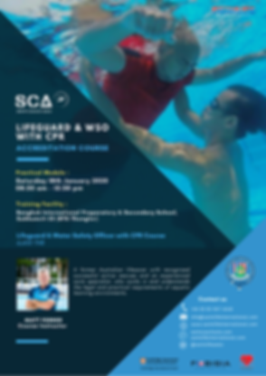 SCA Lifeguard & WSO Accreditation Course