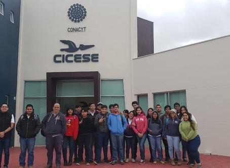 Visita al Centro de Investigación Científica y de Educación Superior de Ensenada, Baja California (C