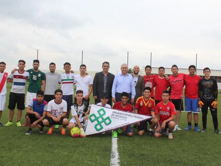 Inauguración del 3er torneo interno de Fut7