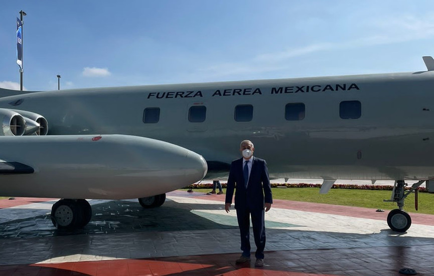 La UPAP presente en la Feria Aeroespacial México 2021 (FAMEX-2021)