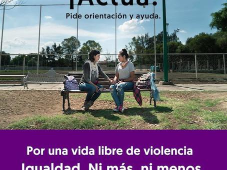 """""""Por tus derechos, Noviazgo sin violencia"""""""