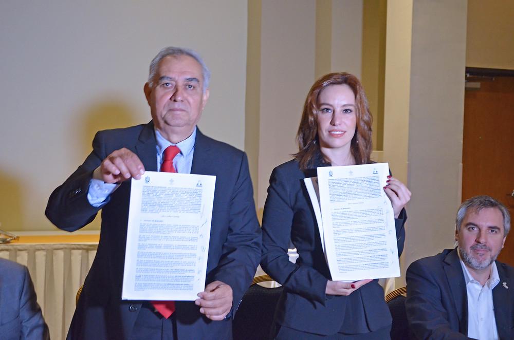 Firma de convenio con la Secretaría de Fomento y Desarrollo Económico