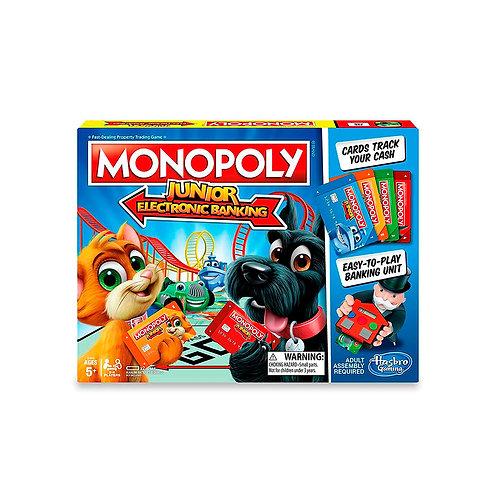 Monopoly Junior Banco Electronico E1842 (Hasbro Gaming)